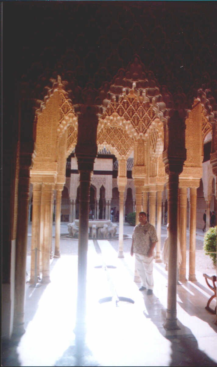 Meditation at the Court of Lyons Alhambra