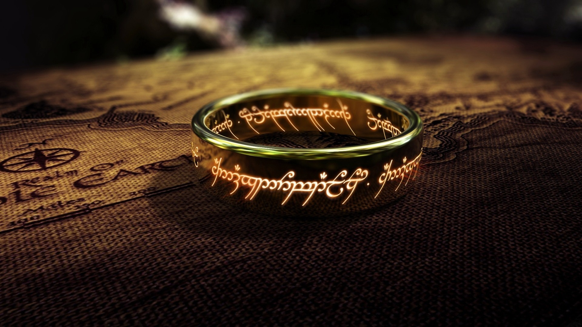 THE ONE RING ENERGY BLOCKAGE OF SAURON